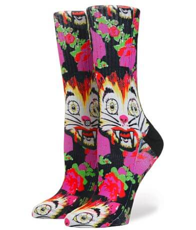 Stance Cat Man Do High Boy Socks