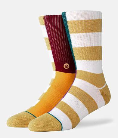 Stance Split Check Socks