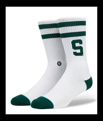 Stance Michigan State Spartans Socks
