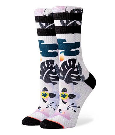 Stance Phototrop Palm Leaf Socks