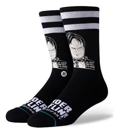Stance The Office Dwight Schrute Socks