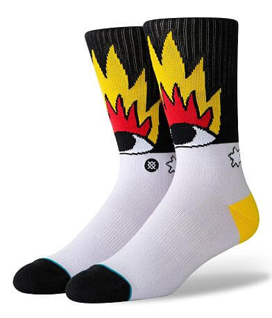 Stance Fire & Eyes Socks