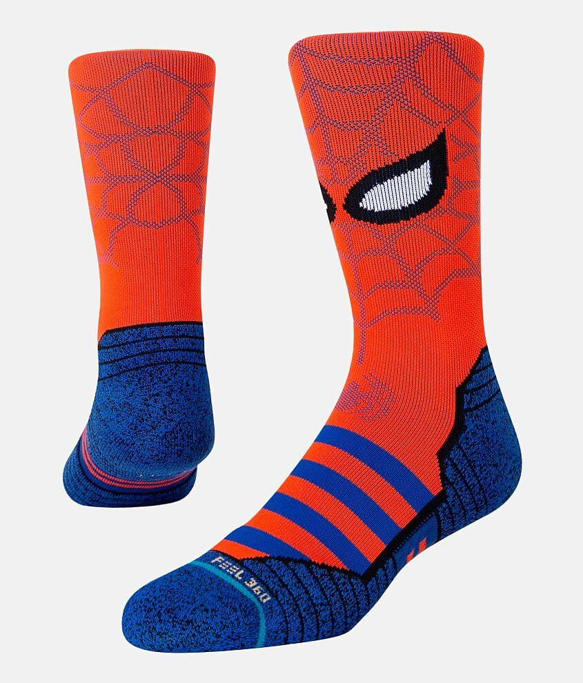 Stance Spidey INFIKNIT™ Performance Socks front view