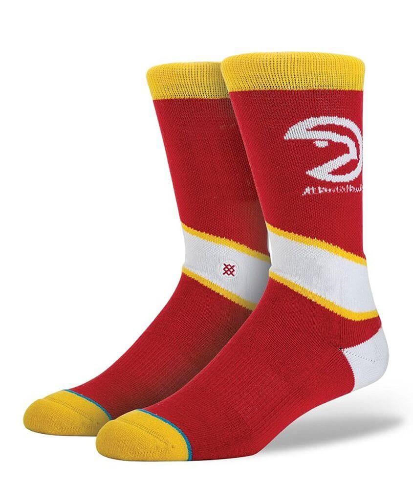 Stance Atlanta Hawks Socks front view