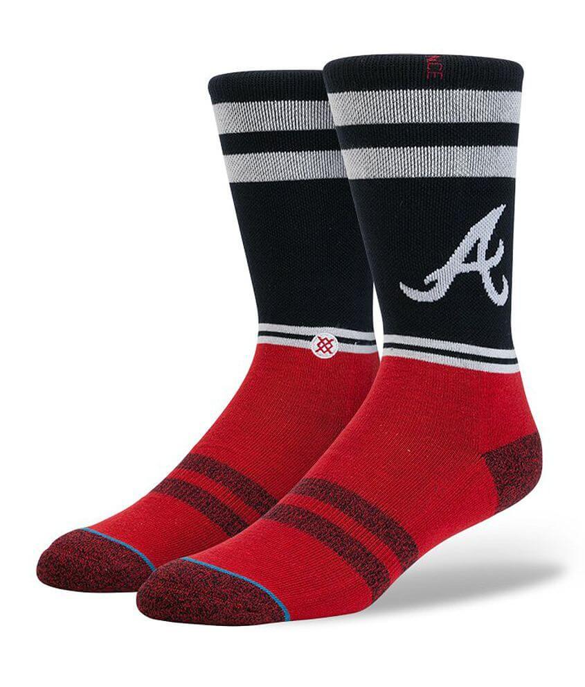 Stance Atlanta Braves Socks front view