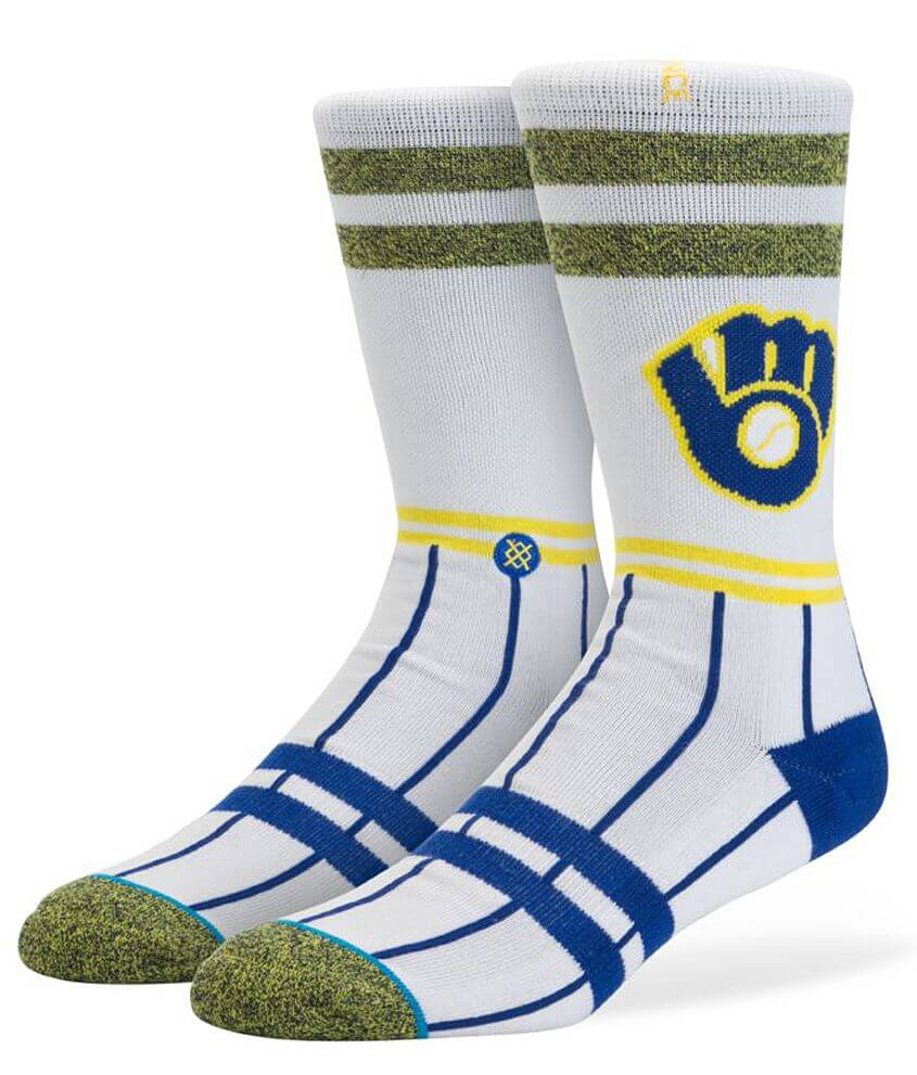 Stance Milwaukee Brewers Socks front view