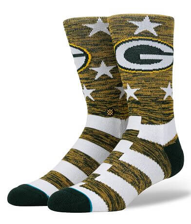 Stance Green Bay Packers Banner Socks