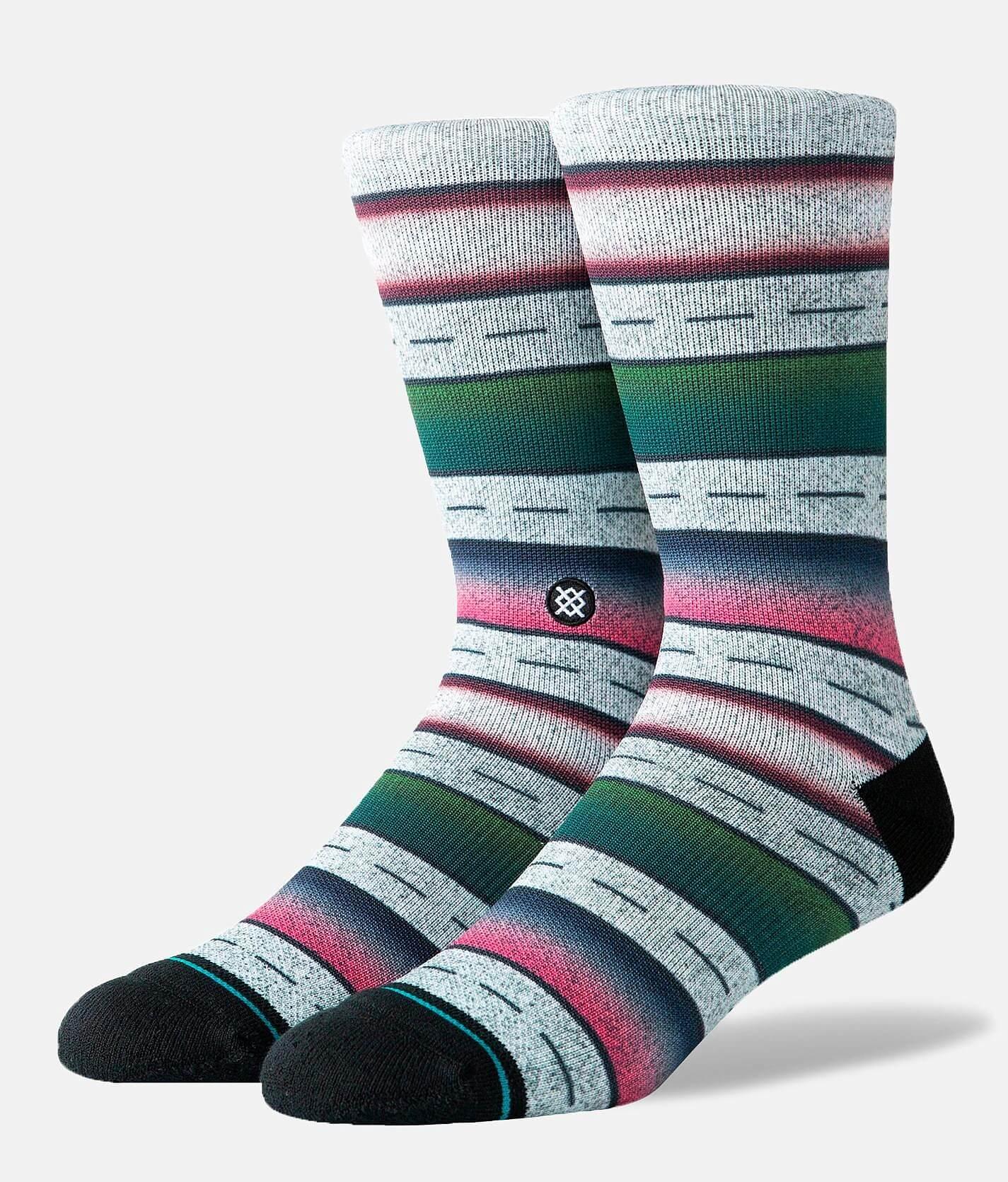 Stance Leslee Crew Socks in Grey