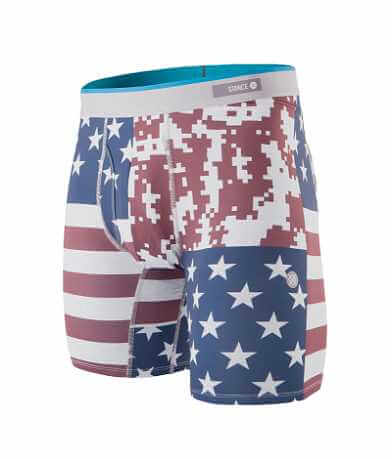 Stance Digi Camo Flag Stretch Boxer Briefs