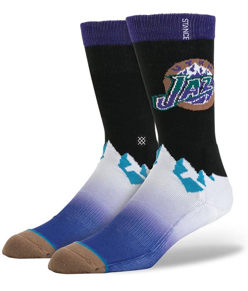 Stance Utah Jazz Socks front view