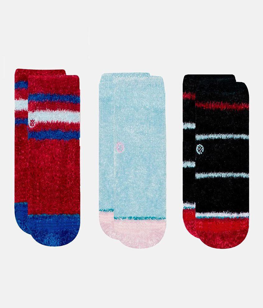 Toddler - Stance 3 Pack Snuggle Slipper Socks front view