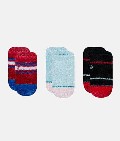Baby - Stance 3 Pack Snuggle Slipper Socks