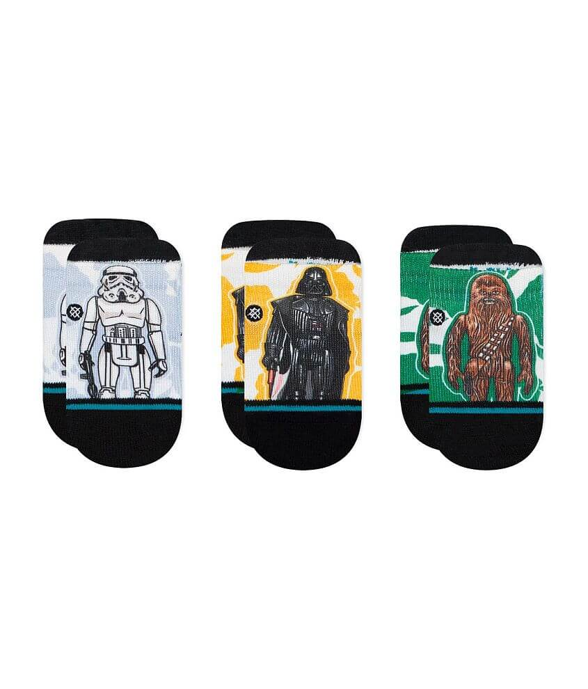 Baby - Stance Star Wars Space Floral 3 Pack Socks front view