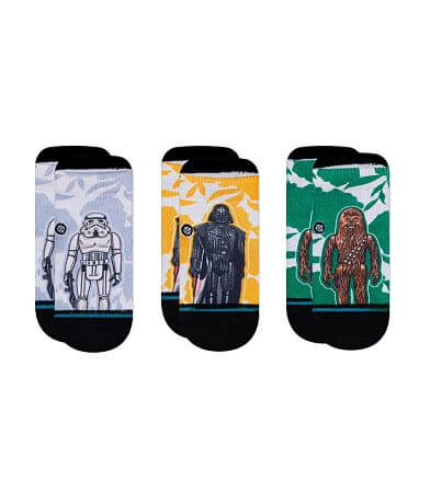 Baby - Stance Star Wars Space Floral 3 Pack Socks