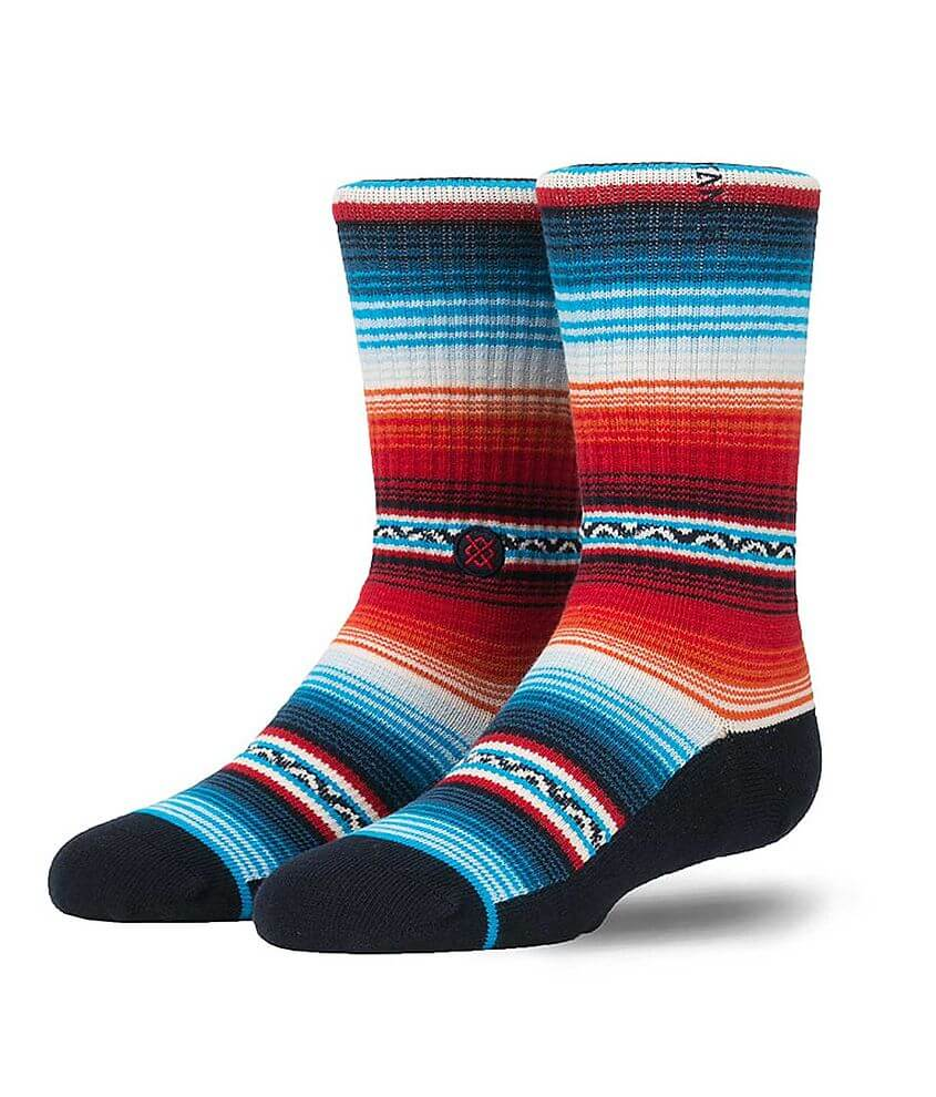 Boys - Stance Washboard Socks front view