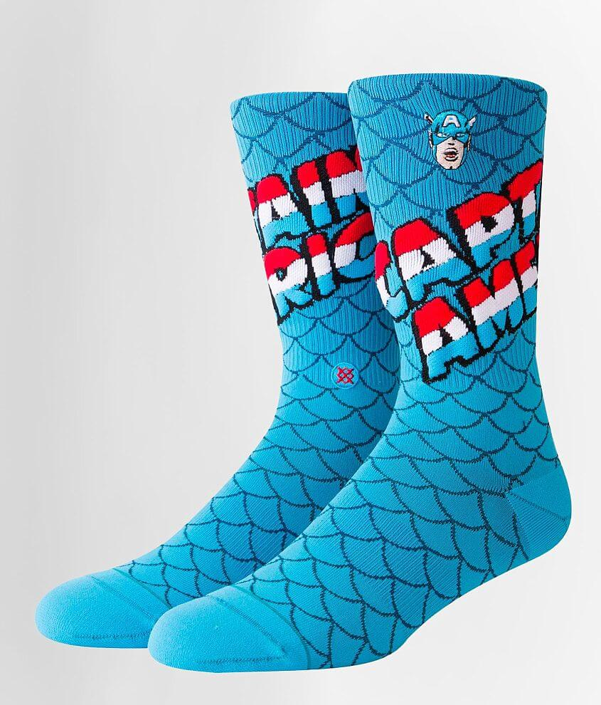 Boys - Stance Captain America Socks front view