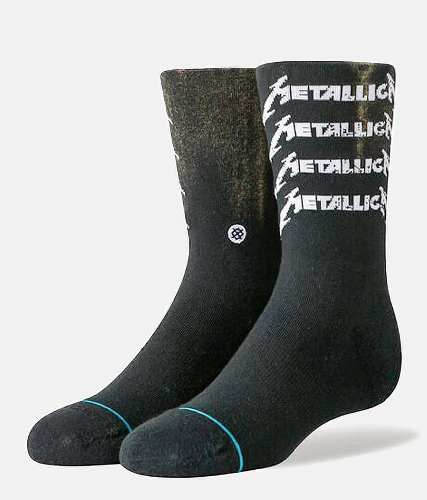 Boys - Stance Metallica Metal Cor Socks front view