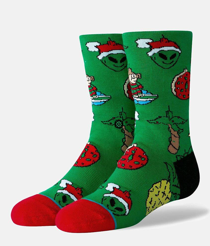 Boys - Stance Christmas Ornaments Socks front view