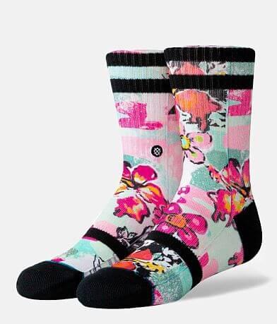 Girls - Stance Spot Floral Socks
