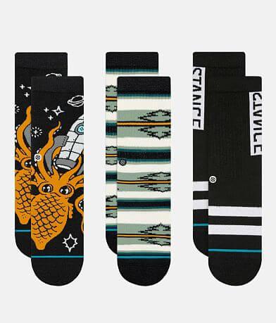 Boys - Stance 3 Pack Odessa Socks