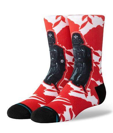 Boys - Stance Star Wars Floral Vader Socks