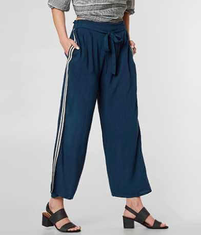 Angie Fashion Wide Leg Cropped Pant