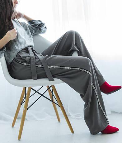 Angie Gauze Wide Leg Pant