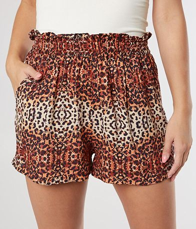 Angie Animal Print Fashion Short