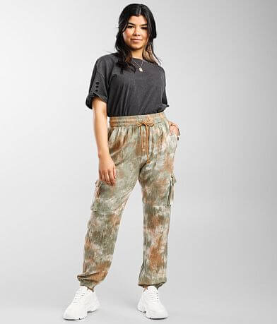 Gilded Intent Tie Dye Cargo Jogger