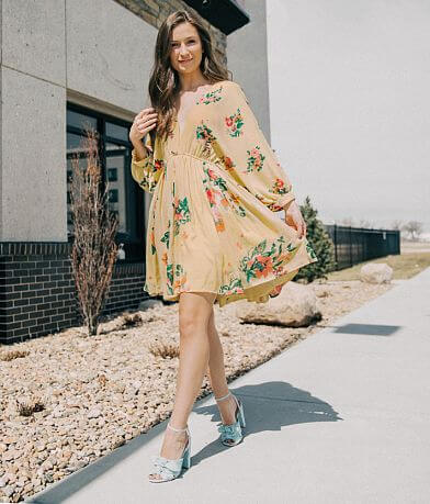 Willow & Root Floral Dress