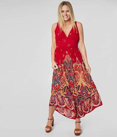 069d90e003e0 Willow   38  Root Floral Medallion Maxi Dress