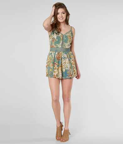 Angie Floral Romper