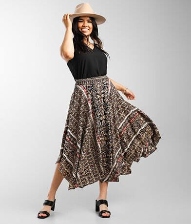 Angie Midi Boho Skirt