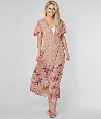 Angie Wrap Maxi Dress
