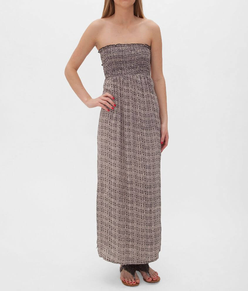 Angie Tube Top Maxi Dress front view