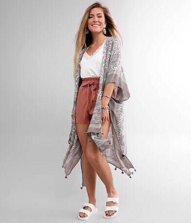 Angie Tassel Kimono