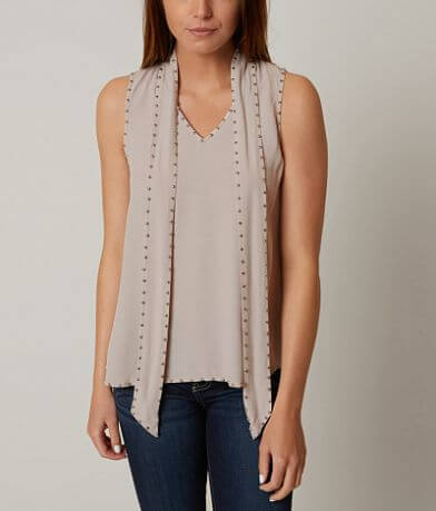 On Twelfth Studded Tank Top