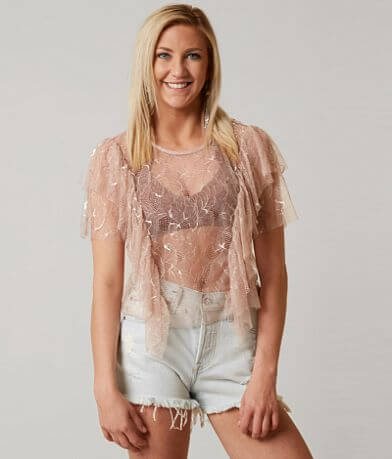 On Twelfth Lace Top