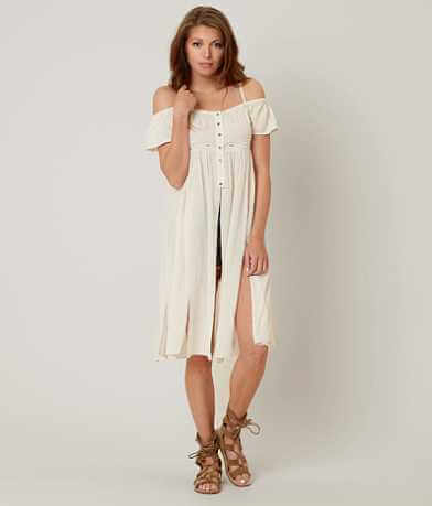 willow & root Cold Shoulder Vest
