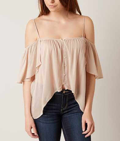 On Twelfth Cold Shoulder Shirt