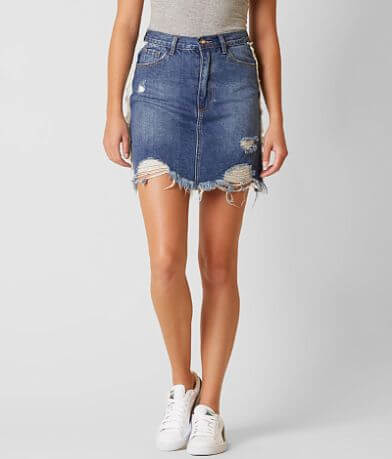 On Twelfth Denim Skirt