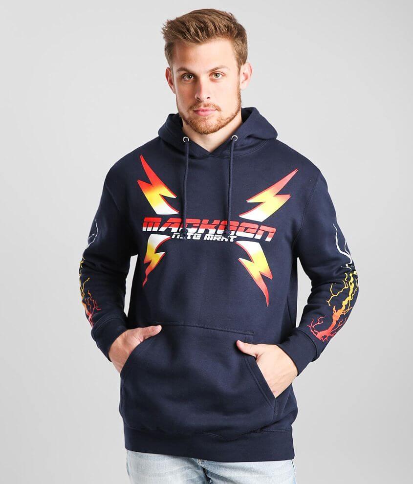 MacKeen® Navy Hooded Sweatshirt front view