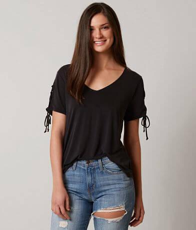 Daytrip Lace-Up T-Shirt