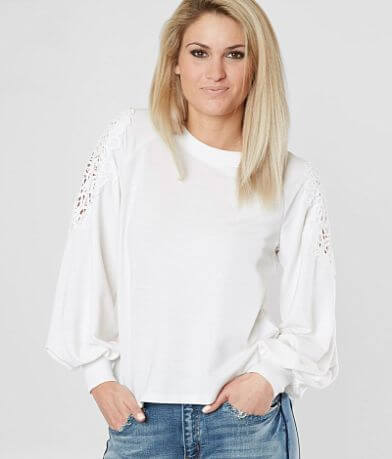 Eyeshadow French Terry Sweatshirt