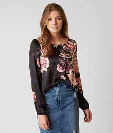 Daytrip Floral Satin Top