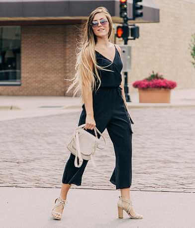 Love On A Hanger Pleated Jumpsuit