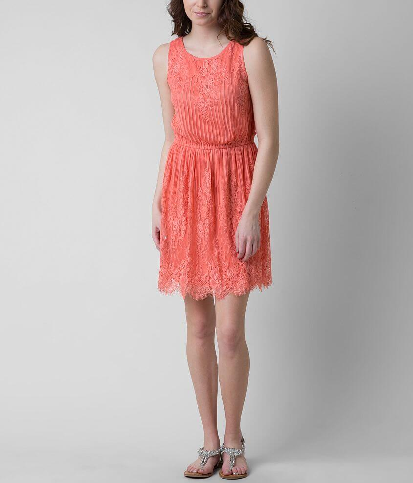 Eyeshadow Lace Dress front view