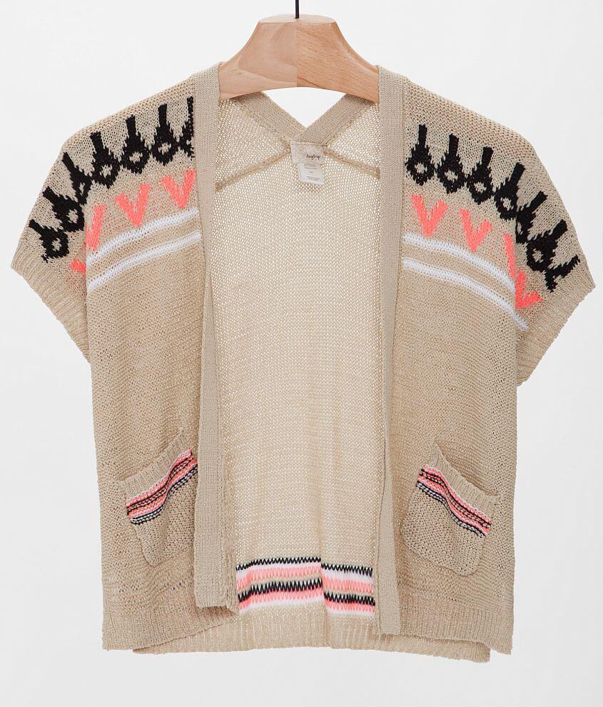Daytrip Metallic Cardigan Sweater front view