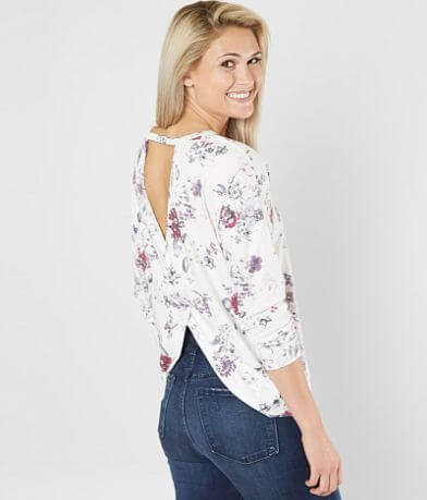 Daytrip Criss Cross Open Back Top