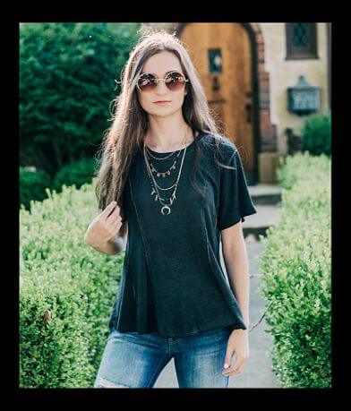 willow & root Washed T-Shirt